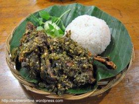 bebek kaleyo's dish